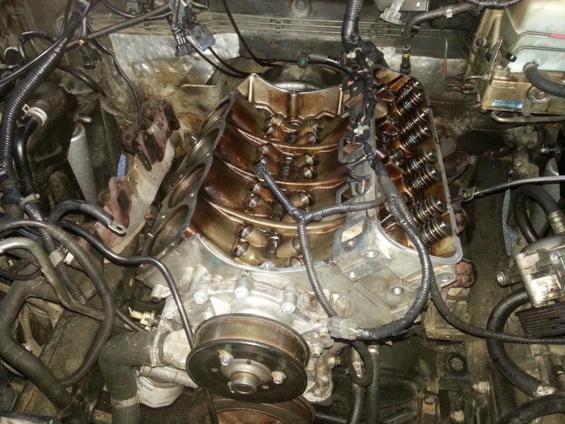 Refection du bas moteur du V8 2014-013