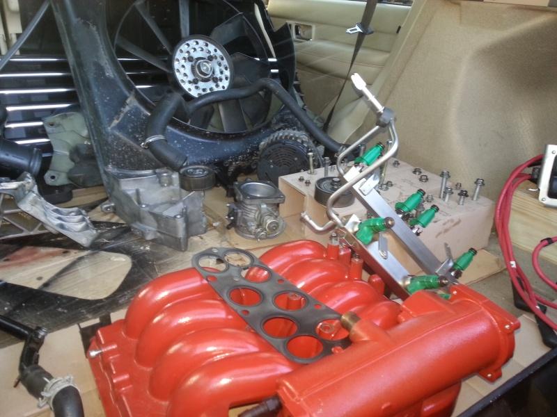 Refection du bas moteur du V8 20140212