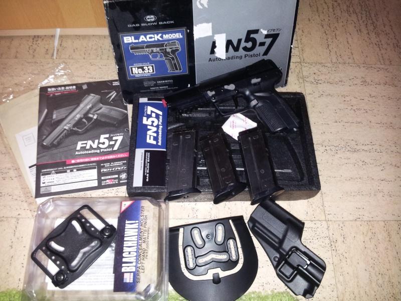 Arrêt ! Ptw A&K, AK74u upgrade, 5-7, MK23, ciras, gear multicam etc... 20140433