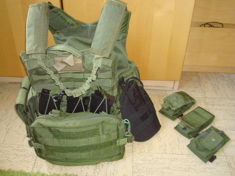 Arrêt ! Ptw A&K, AK74u upgrade, 5-7, MK23, ciras, gear multicam etc... Dsc05317