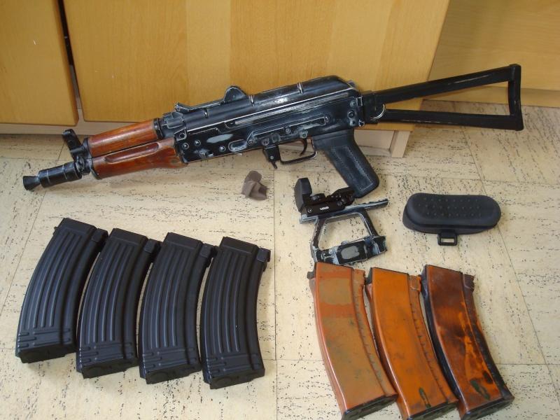 Arrêt ! Ptw A&K, AK74u upgrade, 5-7, MK23, ciras, gear multicam etc... Dsc05319