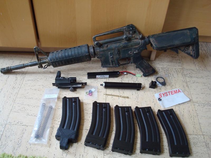 Arrêt ! Ptw A&K, AK74u upgrade, 5-7, MK23, ciras, gear multicam etc... Dsc05320