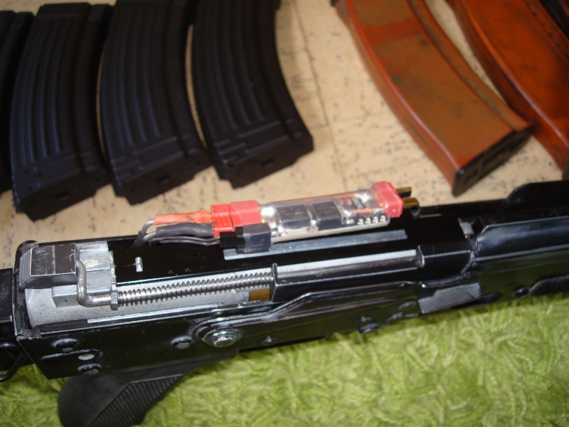 Arrêt ! Ptw A&K, AK74u upgrade, 5-7, MK23, ciras, gear multicam etc... Dsc05321