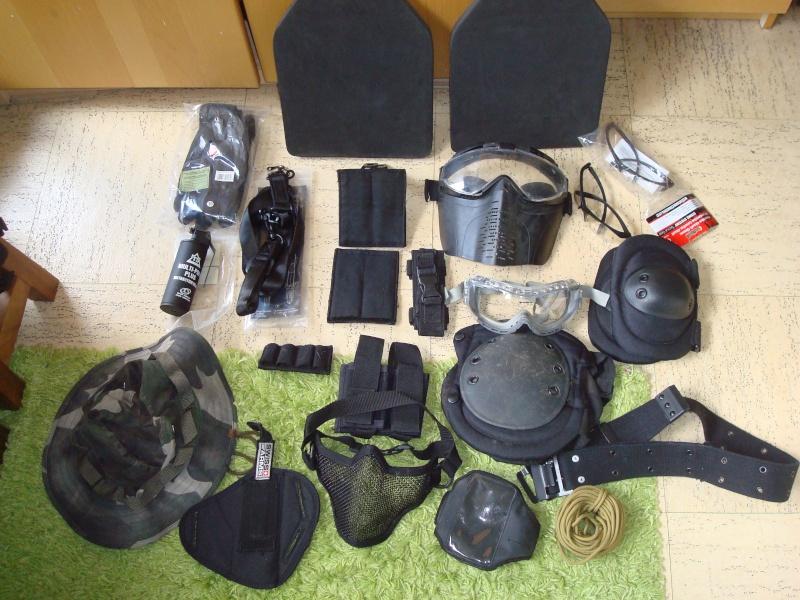 Arrêt ! Ptw A&K, AK74u upgrade, 5-7, MK23, ciras, gear multicam etc... Dsc05324