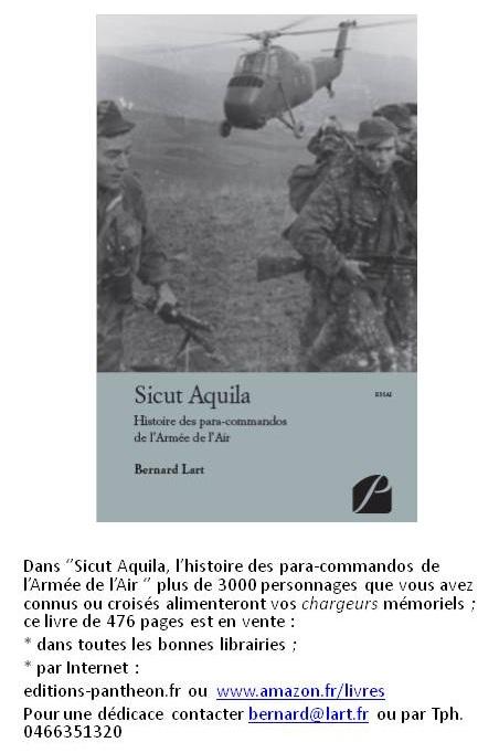 Sicut Aquila : l'histoire des Commandos Parachutistes de l'Air Livre_10