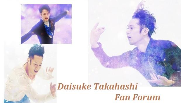 Daisuke Takahashi Fan Forum