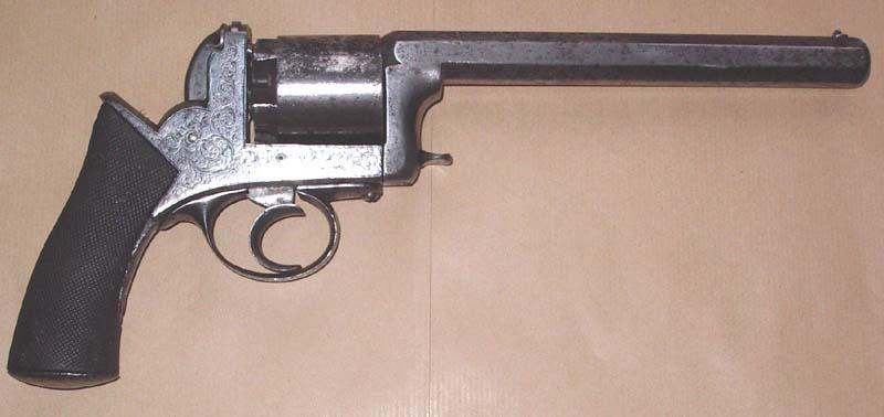 Réaliser un bronzage tabac sur une reproduction de Remington 1858. Revolv10