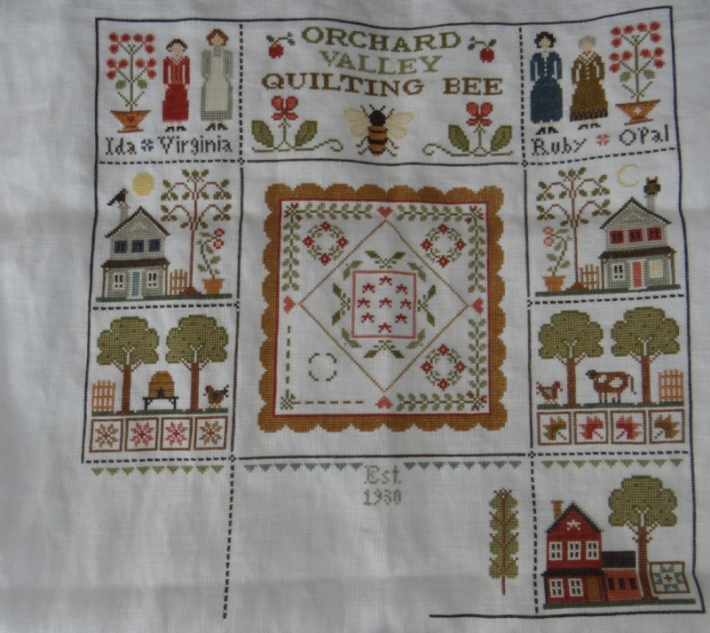 Orchard Valley Quilting Bee de LHN suite le 30 Octobre - Page 41 Dsc02910