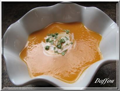 Crème de carottes, pommes et gingembre Creme_10