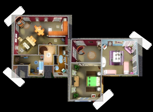 [Architecture et personnages] Cindy ==> FairySims Plan10