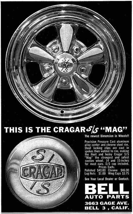 Les Incontournables accessoires pour nos anciennes - hot rod, custom and classic accessories and parts - Page 3 Cragar10