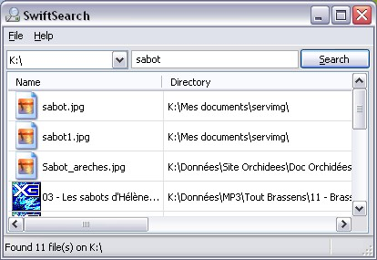 Retrouvez vos fichiers Swifts10