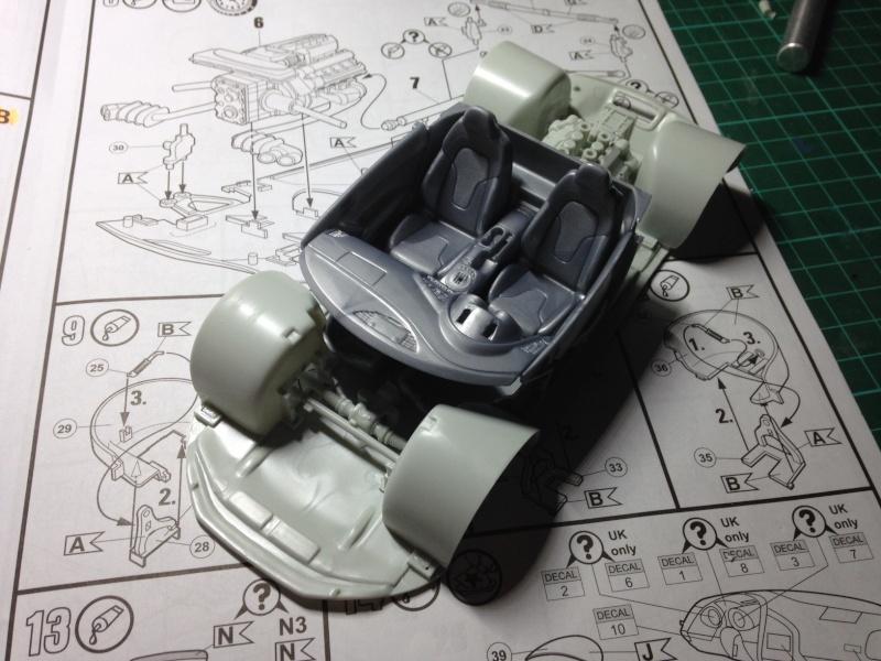 Audi R8 Revell 1/24 Audi0015
