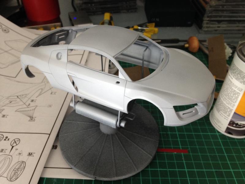 Audi R8 Revell 1/24 Image10