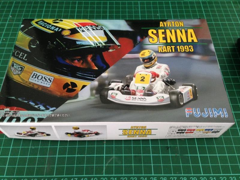 Ayrton Senna, Kart 1993, Fujimi 1/20 Sennak10