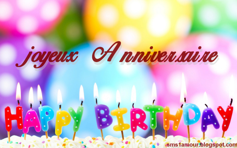 happy birthday party !!!! Joyeux10