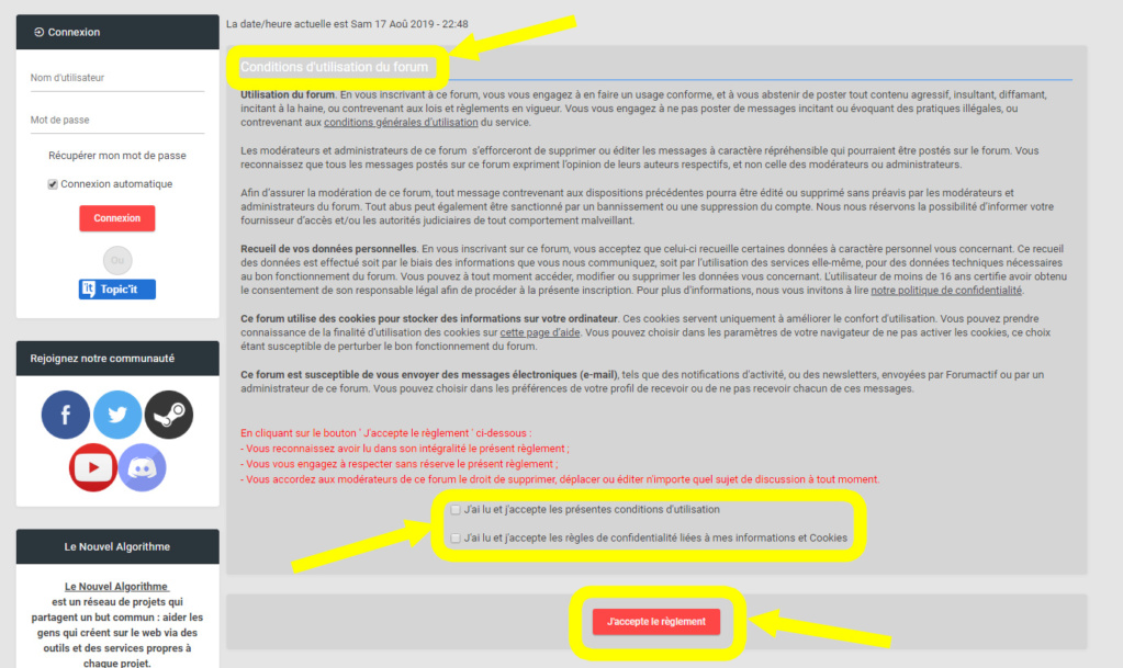 TUTO DU FORUM : NOUVEAUX MEMBRES (inscription de A à Z) 01b_co10