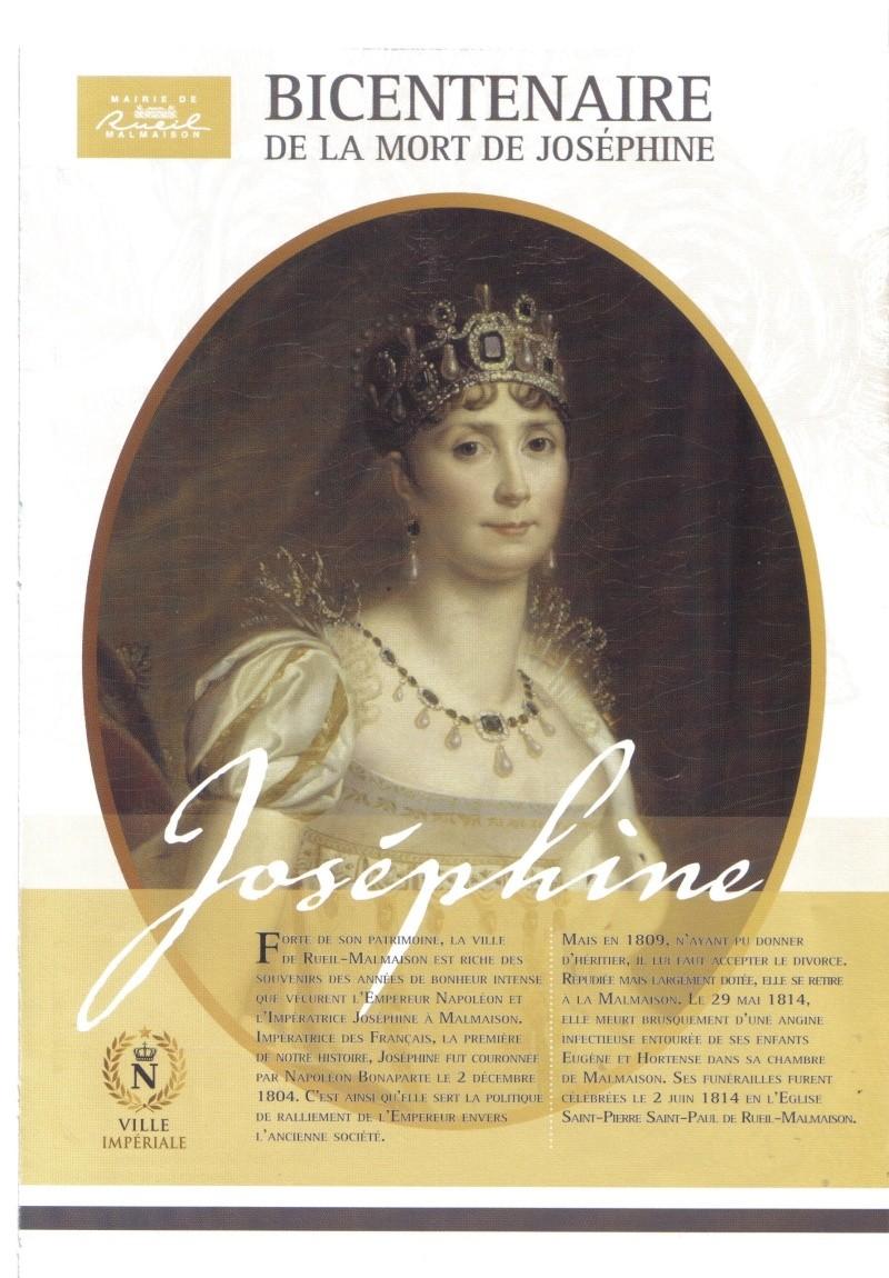 Bicentenaire de la mort de Joséphine Josa110