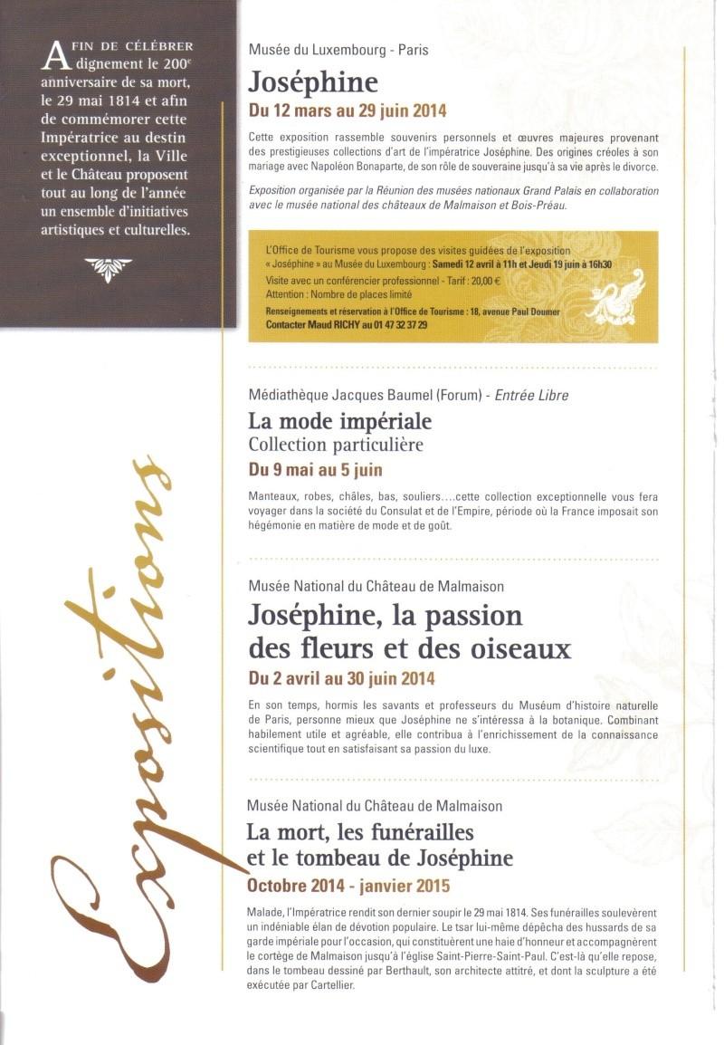 Bicentenaire de la mort de Joséphine Josa210