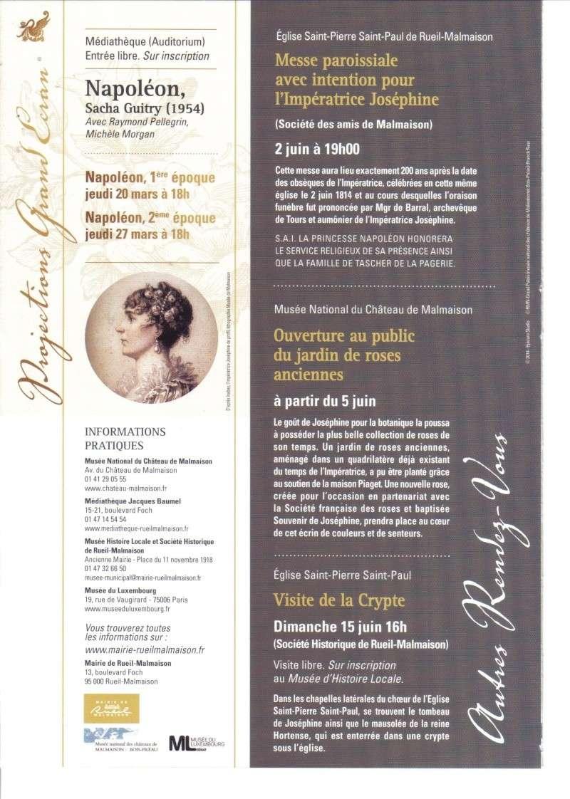 Bicentenaire de la mort de Joséphine Josa410