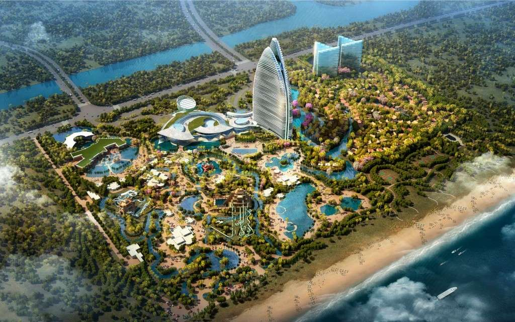 Resorts ATLANTIS (Bahamas - Dubai - Sanya - Shanghai - Hawaï) par Kerzner Backgr10