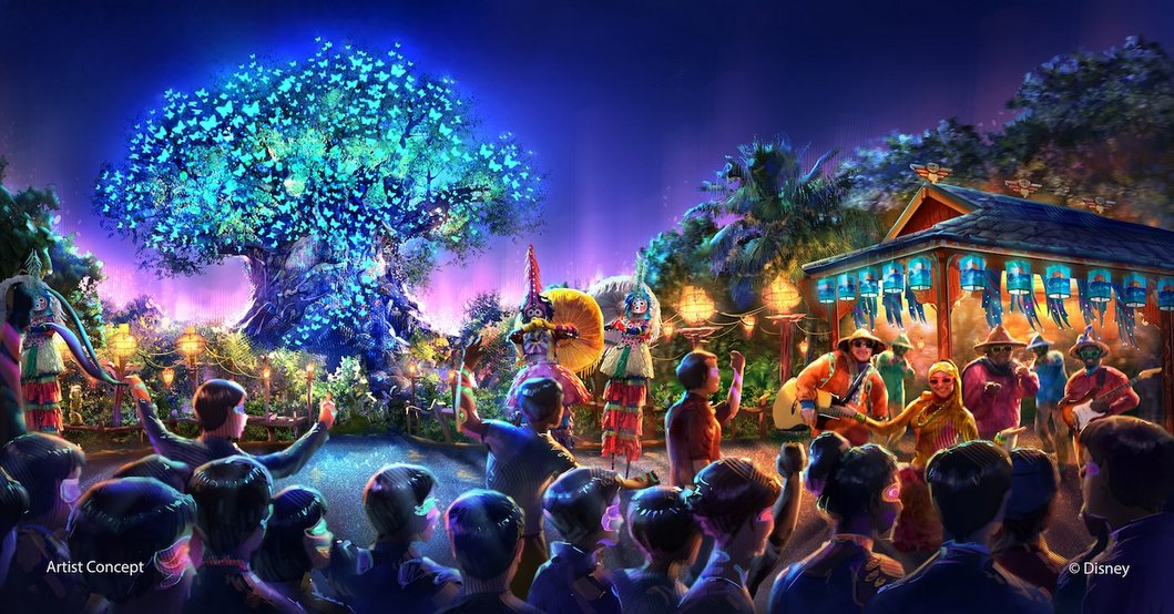 [Disney's Animal Kingdom] Nouveaux divertissements nocturnes: Rivers of Light, Tree of life Awakenings, The Jungle Book Alive with Magic ... Dak_ni10
