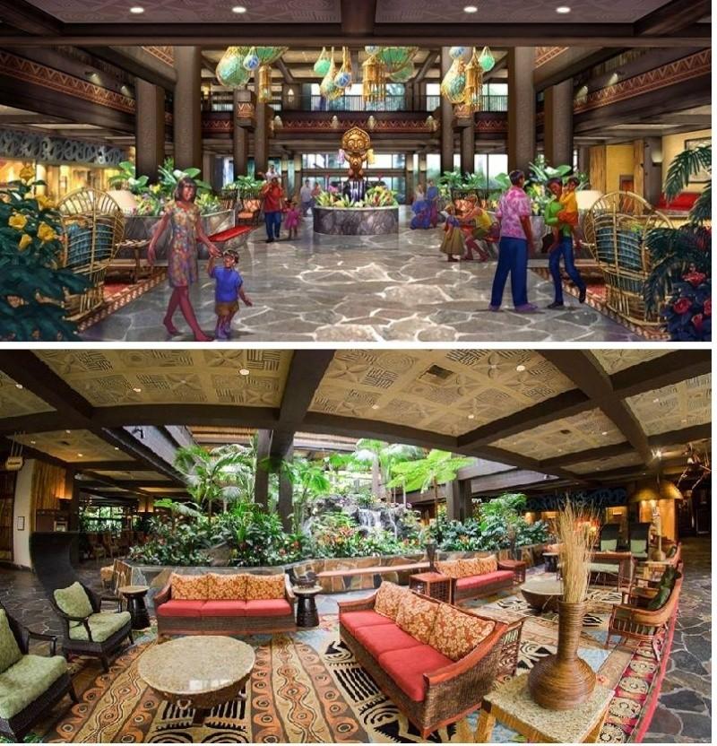 [Disney's Polynesian Village Resort] Relooking de l'hôtel + Disney Vacation Club (2015) Poly10