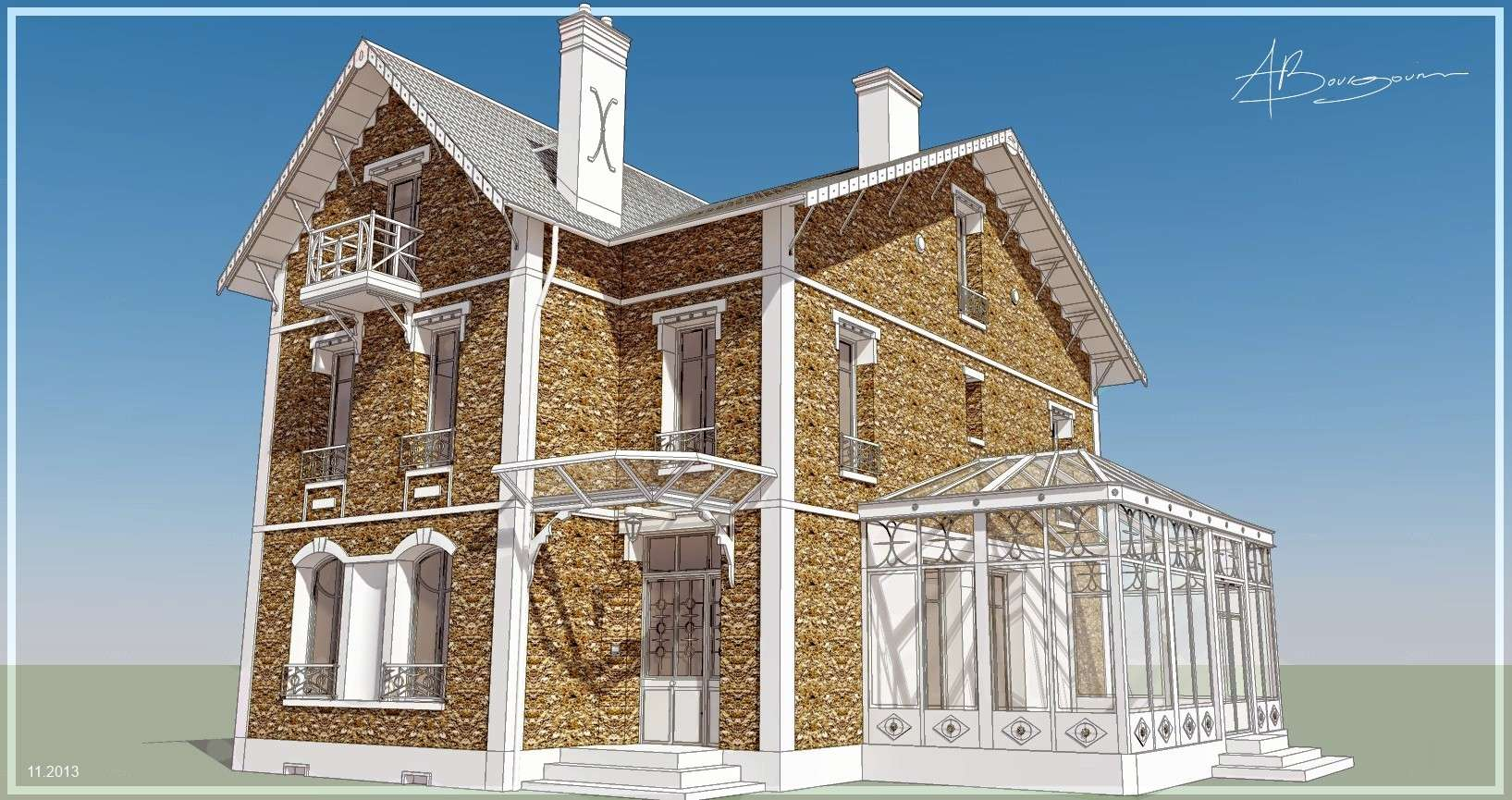 SketchUp'eur architecte -AnthO'- - Page 27 Meulie11