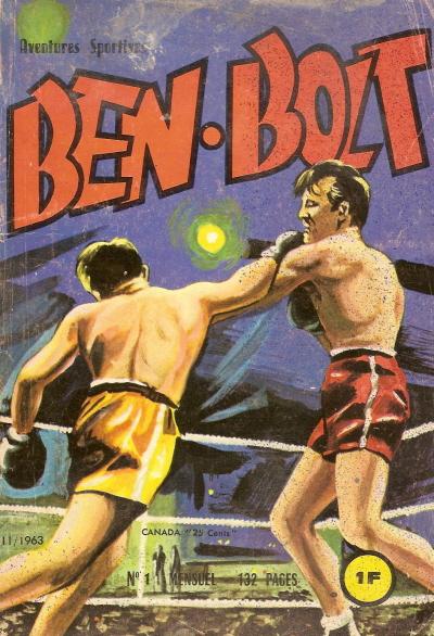 """""""Quatre boules de cuir"""" (Big Ben Bolt) Bb110"""