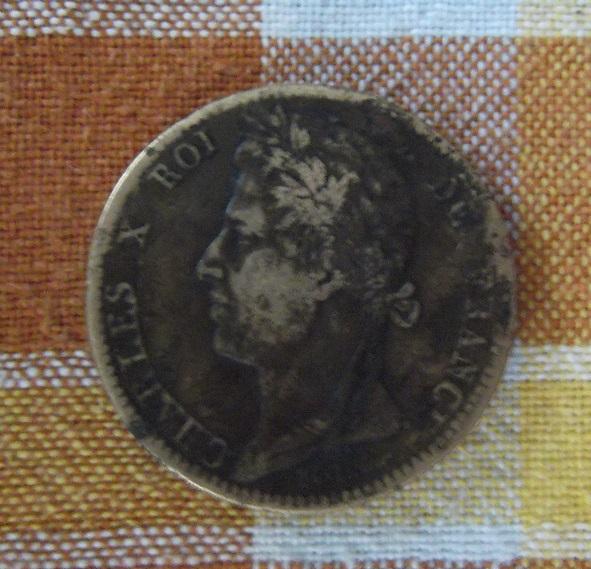 10 Céntimes. Francia. 1827. La Rochelle 14012910