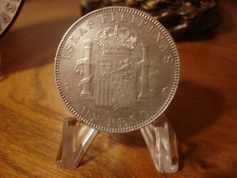 1 Peso. Alfonso XIII, Islas Filipinas. 1897. Madrid Dsc07112