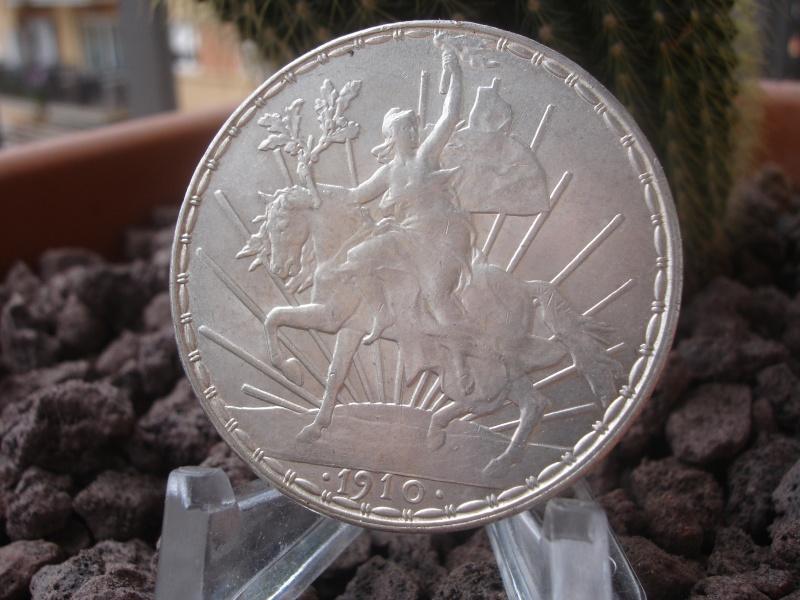 """1 Peso """"Caballito"""". México. 1910. Ciudad de México Dsc07429"""
