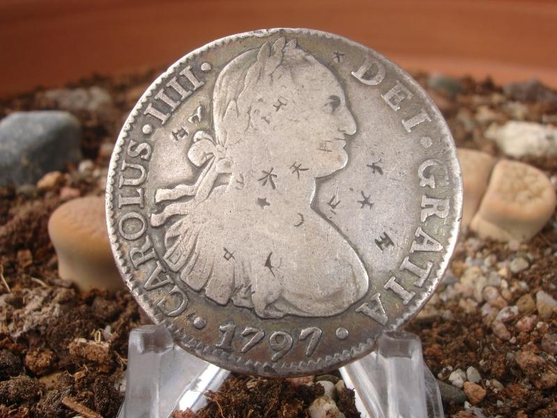 8 Reales. Carlos IIII. 1797. México Dsc07432