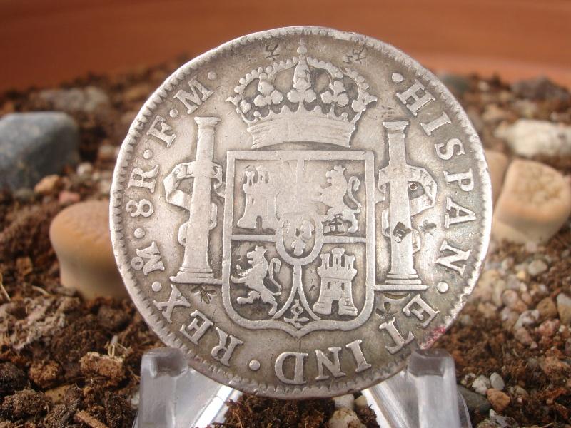 8 Reales. Carlos IIII. 1797. México Dsc07433