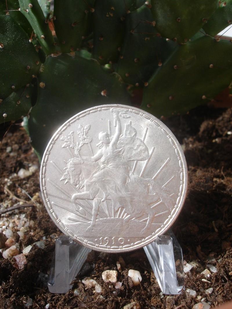 """1 Peso """"Caballito"""". México. 1910. Ciudad de México Dsc07510"""