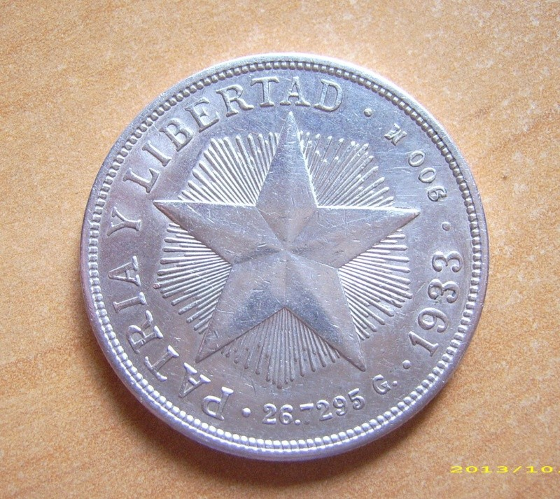 1 Peso República de Cuba 1.933 Dsci1210