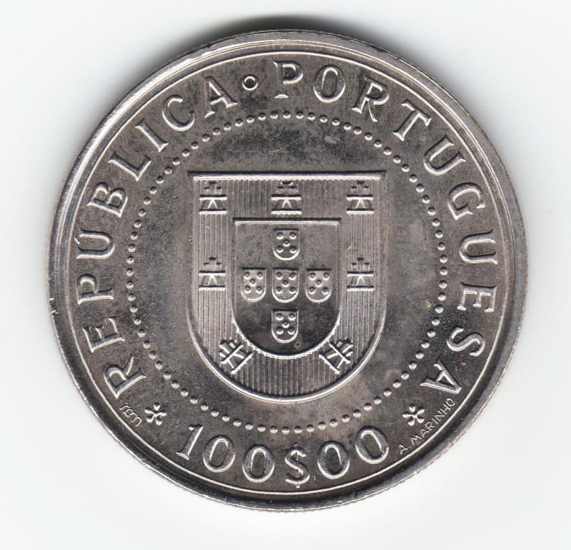 100 Escudos. Portugal. 1990. Lisboa Img90310