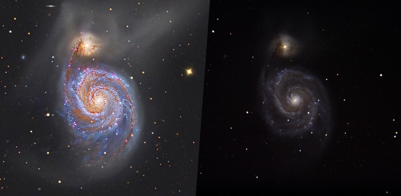 Traitement d'image de l'Observatoire du Celado Compar10