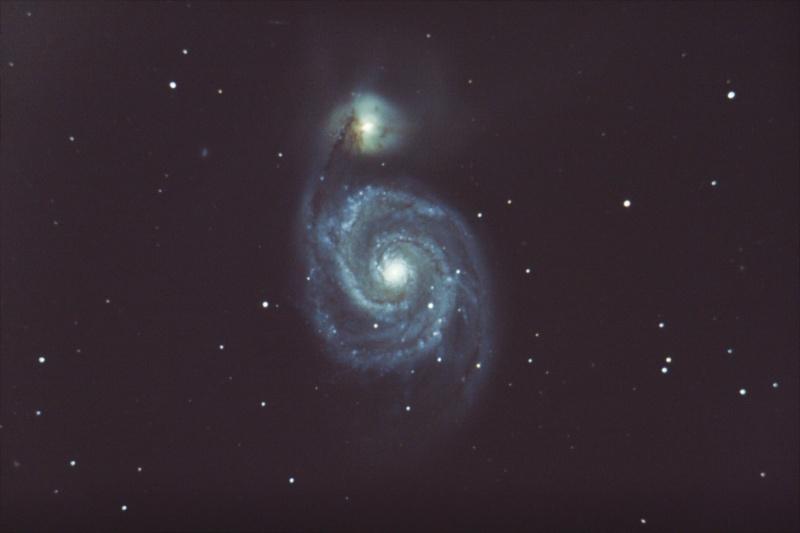 Traitement d'image de l'Observatoire du Celado M51_ga10