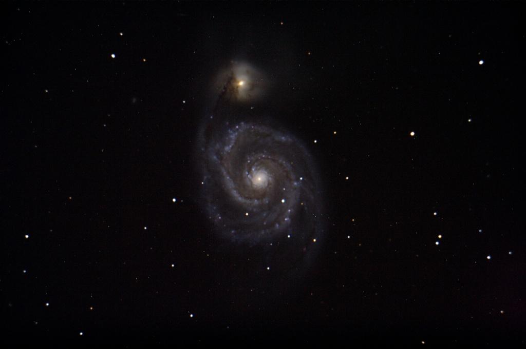 Traitement d'image de l'Observatoire du Celado M51_re10