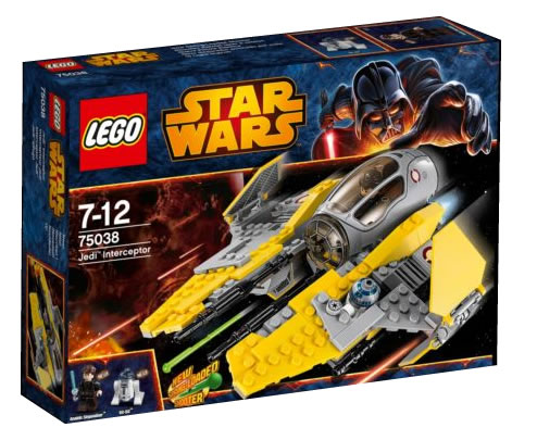 LEGO STAR WARS - 75038 - Jedi Interceptor 75038_12