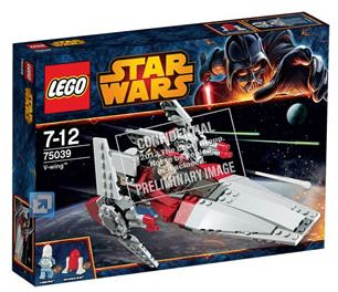 LEGO STAR WARS - 75039 - V-Wing Fighter  75039_11