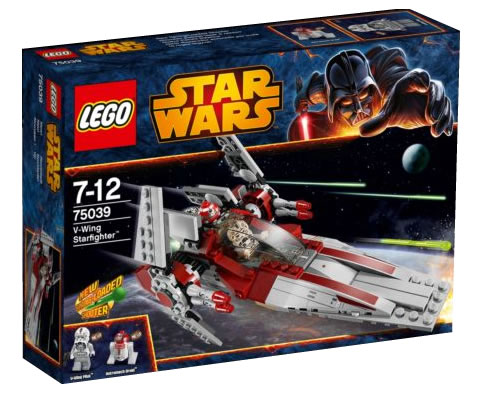 LEGO STAR WARS - 75039 - V-Wing Fighter  75039_12