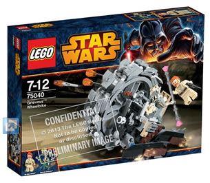 LEGO STAR WARS - 75040 - General Grievous Wheel Bike. 75040_10