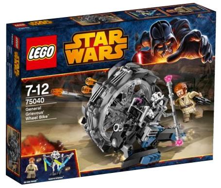 LEGO STAR WARS - 75040 - General Grievous Wheel Bike. 75040_12