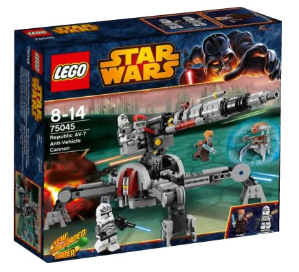 LEGO STAR WARS - 75045 - REPUBLIC AV-7 ANTI-VEHICULE CANNON 75045_10