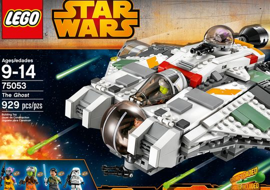 LEGO STAR WARS REBELS - 75053 - The Ghost 75053_10