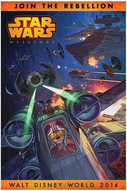Disney - Star Wars Week End 2014 Affich11