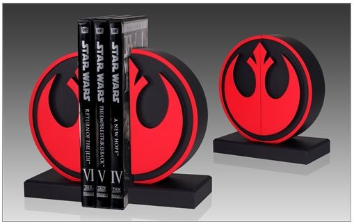 Gentle Giant - Star Wars - Rebel Seal Bookends Bookre12