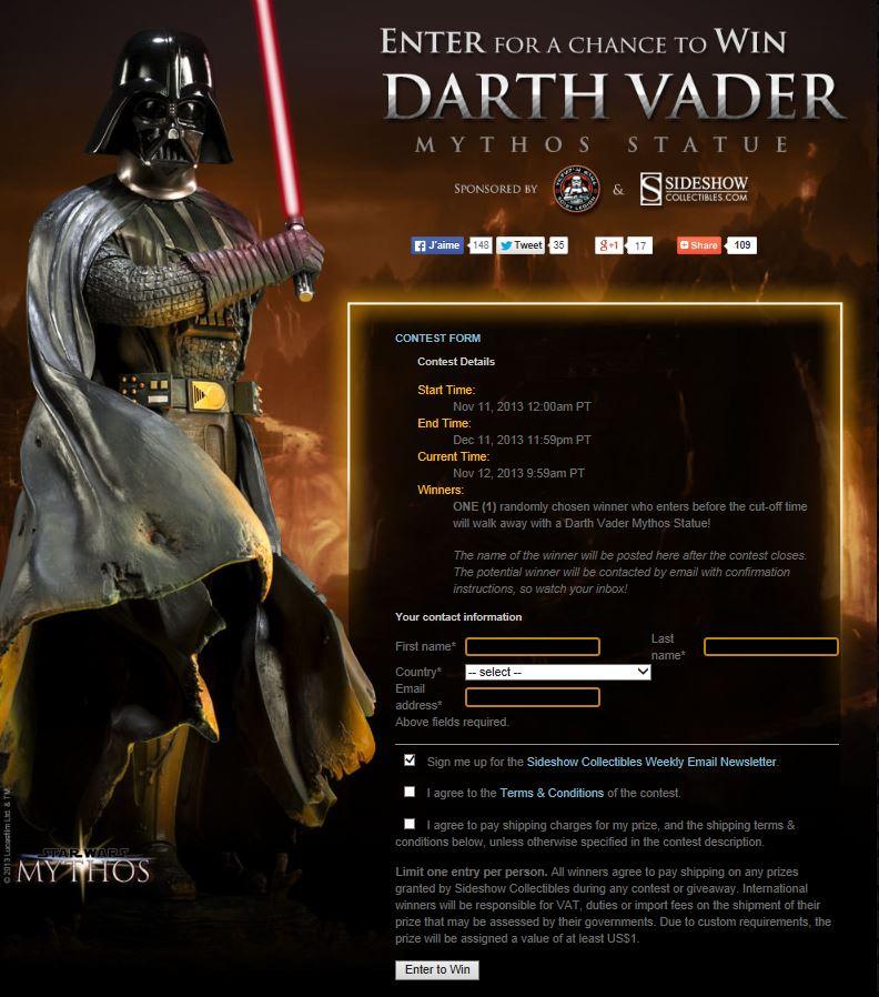 Sideshow - Mythos - Darth Vader - Dark Contemplations - Page 2 Captur15